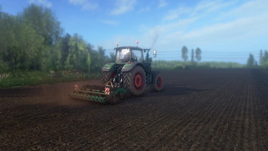 Мод культиватор AGROMERKUR PD-7 V1.0.0.0 Farming Simulator 17