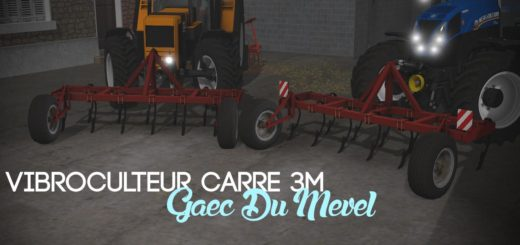 Мод культиватор CARRE FRONTAL V1.0.0.0 Farming Simulator 2017
