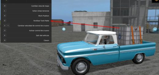 Мод авто CHEVROLET C10 1972 V1.1 Farming Simulator 2017