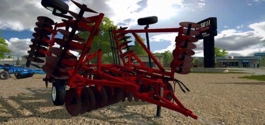 Мод культиватор CIH 490 DISK V1.0 Farming Simulator 2017