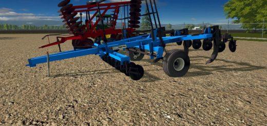Мод плуг DMI 5 SHANK V1.0 Farming Simulator 17