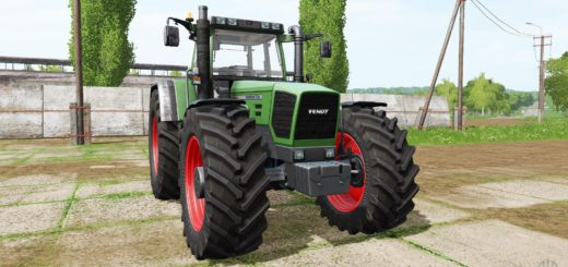 Мод трактор FENDT FAVORIT 916 TURBOSHIFT V1.0 Farming Simulator 17