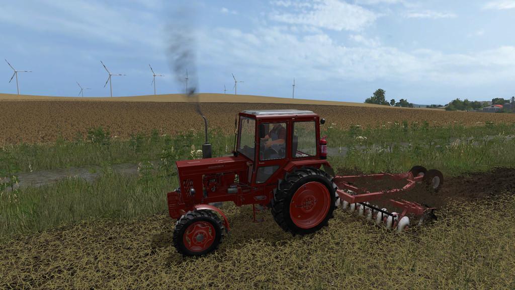 Мод культиватор FFT 320 V1.0.0.0 Farming Simulator 17