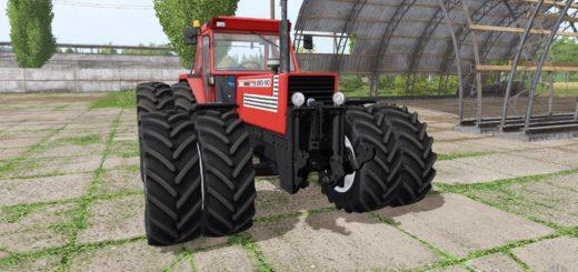 Мод трактор FIAT 180-90 TURBO V2.0 Farming Simulator 17