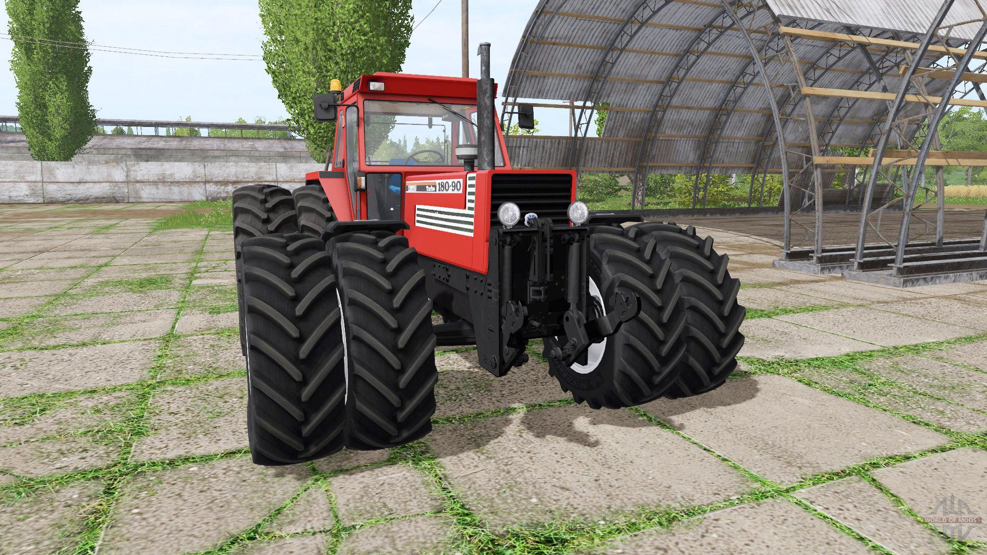 Мод трактор FIAT 180-90 TURBO V2.0 Farming Simulator 17