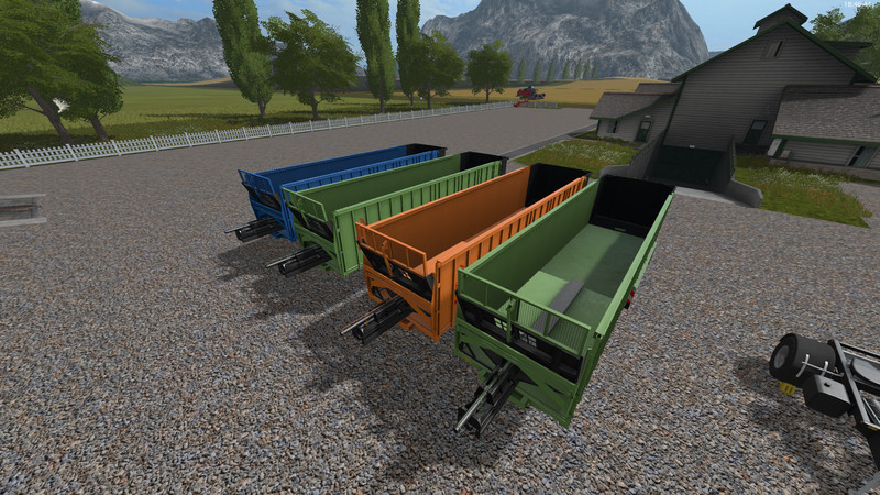 Мод прицеп FLIEGL ASS 298 V1.1.0.1 Farming Simulator 2017