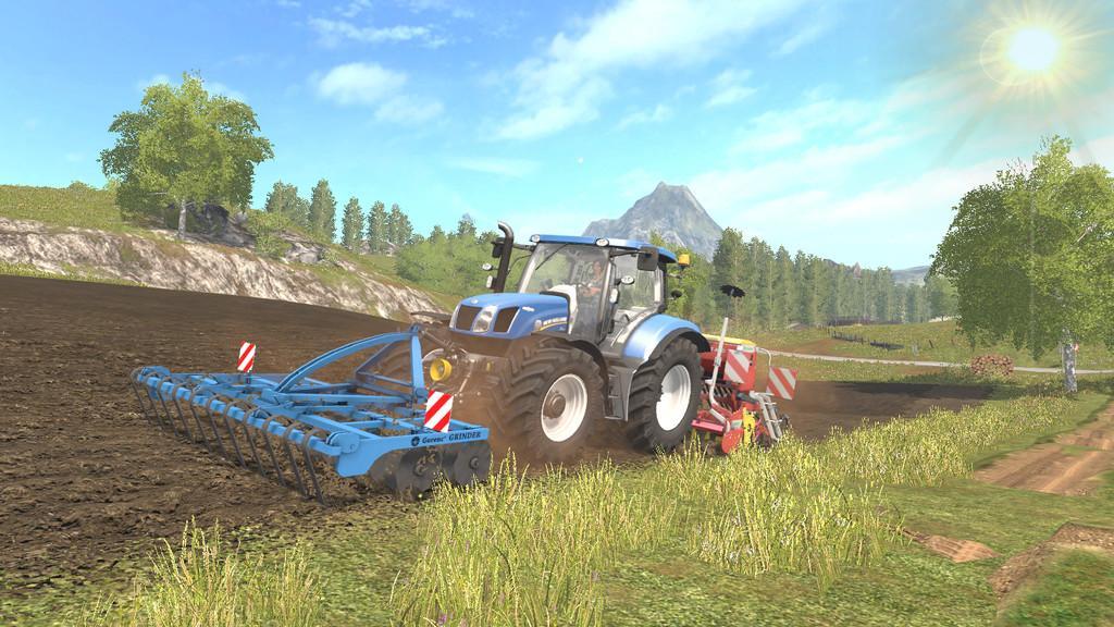 Мод культиватор GORENC GRINDER 3M V1.0.0.0 Farming Simulator 2017