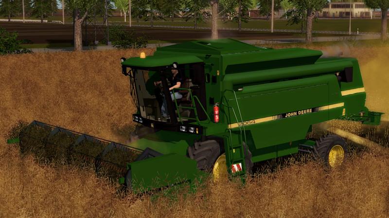 Мод комбайн JOHN DEERE 2064 V2.1 Farming Simulator 2017