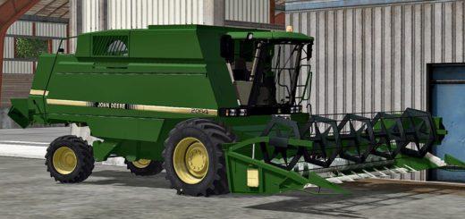 Мод комбайн JOHN DEERE 2064 V2.0 Farming Simulator 17
