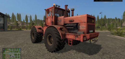Мод трактор Кировец K-700A ROT V1.0.0.0 Фермер Симулятор 2017