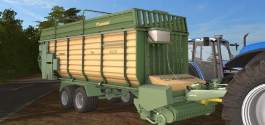 Мод прицеп KRONE TITAN 6/42 GD V1.0 Farming Simulator 2017