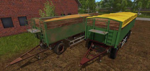 Мод прицеп KEMPF HK 24T V1.0.0 Farming Simulator 2017