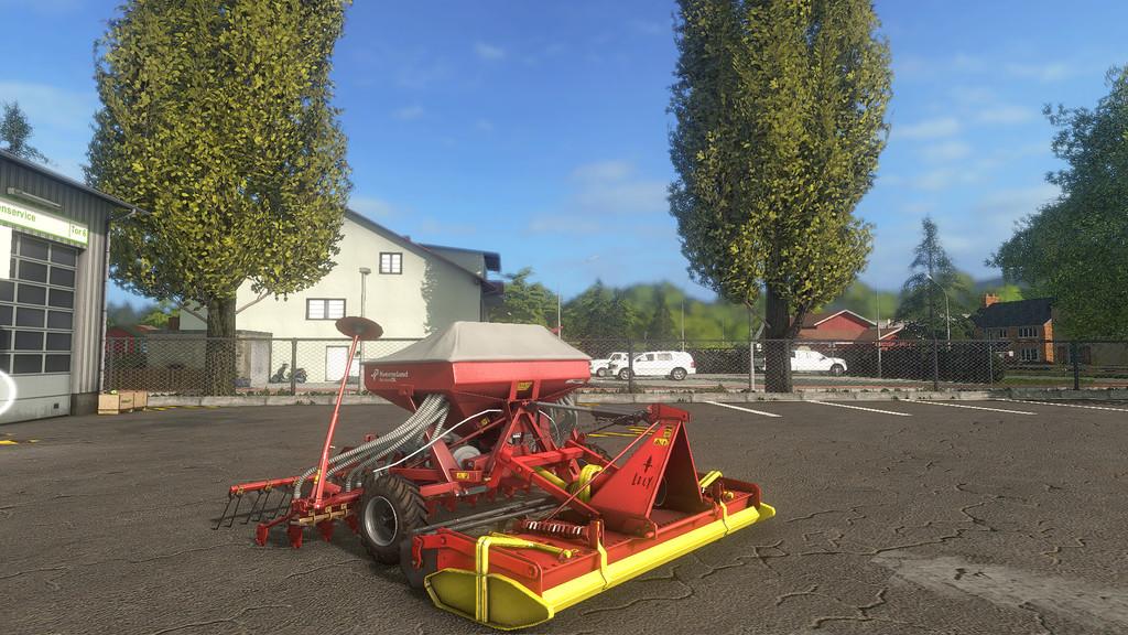 Мод культиватор LELY terra 250 Farming Simulator 2017