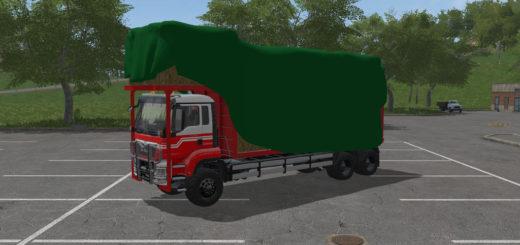 Мод грузовик MAN TGS BALE TRANSPORT V1.0.0.0 Farming Simulator 17