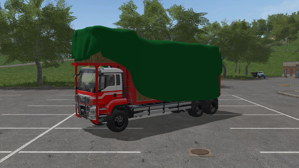 Мод грузовик MAN TGS BALE TRANSPORT V1.0.0.0 Farming Simulator 17