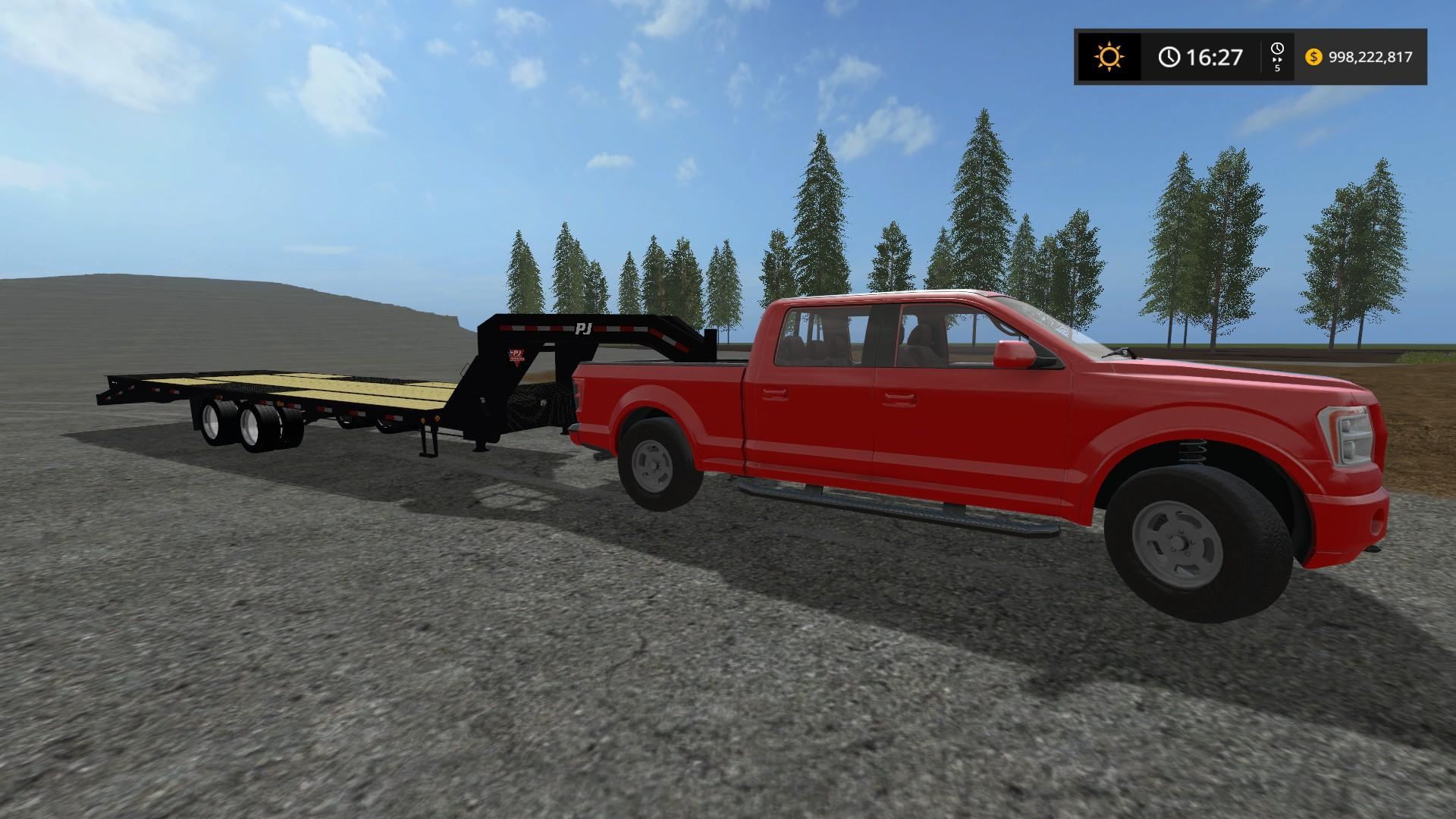 Мод авто MR PICKUP TT HD V1.0 Farming Simulator 17