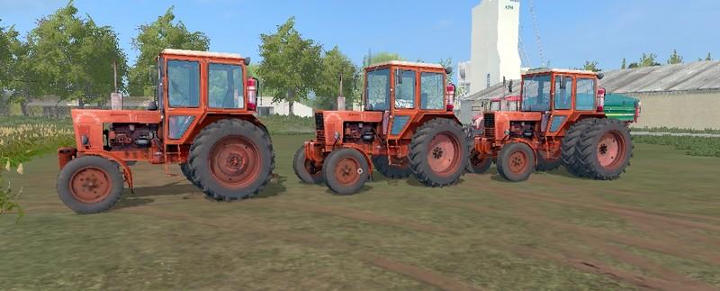 Мод ПАК тракторов МТЗ 80/82 v1.3 Фермер Симулятор 2017