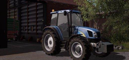 Мод трактор NEW HOLLAND T5000 V0.9 BETA FS17