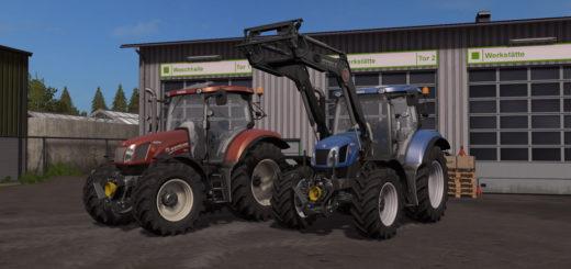 Мод трактор New Holland T6 Tier4a Beta 1.2.0.0 Farming Simulator 2017