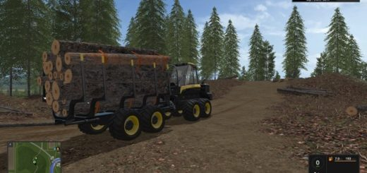 Мод Ponsse Buffalo autoload and loading aid V1.1 FS17