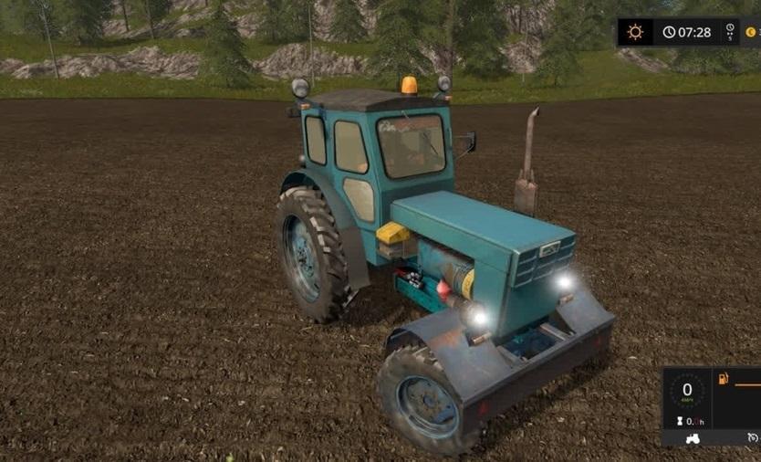 Мод трактор T-40 AM V1.0 Фермер Симулятор 2017