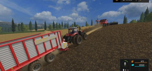 Мод ПАК прицепы TERA VITESSE V1.0.0.4 Farming Simulator 17