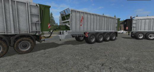 Мод прицеп THE FLIEGL GIGANT ASW 491 V1.2 Farming Simulator 17