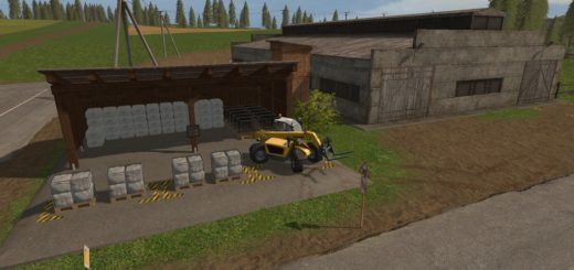 Мод хранилище WOOL STORAGE V1.0.0.0 Farming Simulator 17