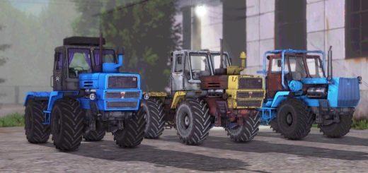 Мод ПАК трактора ХТЗ XTZ T-150K PACK V1.1 Фермер Симулятор 2017