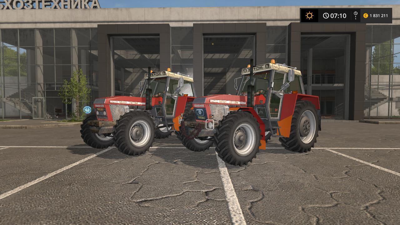 Мод трактор ZETOR 12145 V1.2 Farming Simulator 2017