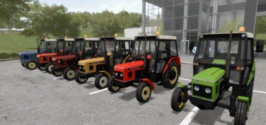 Мод ПАК тракторов ZETOR 6011-6045 PACK V1.0 Farming Simulator 17