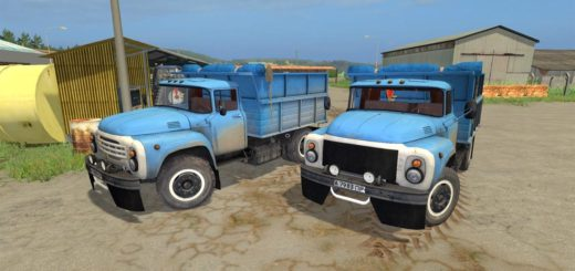 Мод грузовик ЗИЛ 130 v2.1 Фермер Симулятор 2017