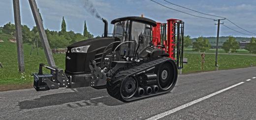 Мод трактор Challenger MT700E stealth V1.0 Farming Simulator 17