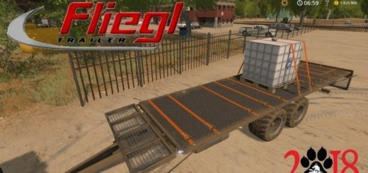 Мод прицеп Fliegl DPW 150 v1.0 Farming Simulator 2017