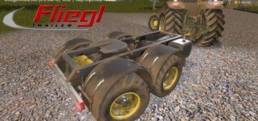 Мод Fliegl Dolly EA Tandem v2.1 Farming Simulator 2017
