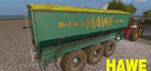Мод прицеп Hawe ULW 5000 v1.0 Farming Simulator 17