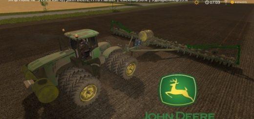 Мод сеялка John Deere 1770 Planter v1.0 FS17