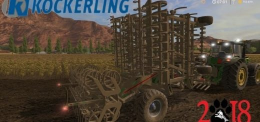 Мод культиватор Koeckerling Allrounder v2.0 Farming Simulator 17