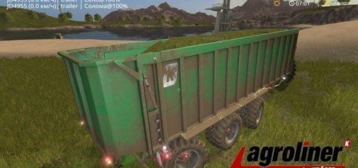 Мод прицеп Kroeger TAW 30 v1.0 Farming Simulator 2017