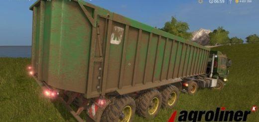 Мод прицеп Kroeger TAW 45 v1.0 Farming Simulator 17