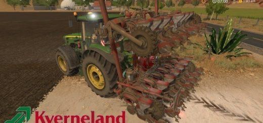 Мод сеялка Kverneland Miniair Nova 2 v1.0 Farming Simulator 17