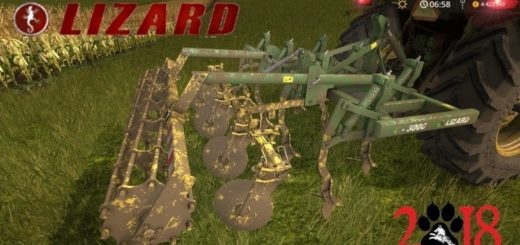 Мод культиватор Lizard C3000 v1.0 FS17