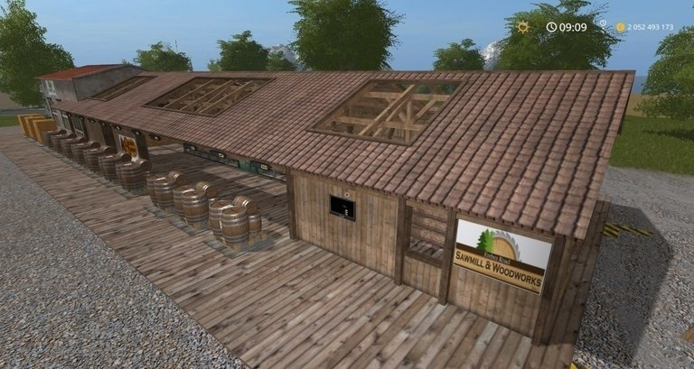 Мод производство Placeable SawMill Multi Production FS17