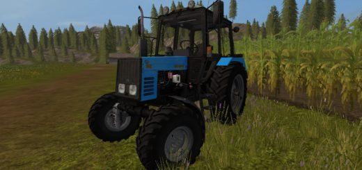 Мод трактор Беларус МТЗ-892 v2.0 Фермер Симулятор 2017
