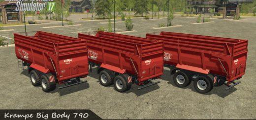 Мод прицеп KRAMPE BBS 790 V1.0.0.0 Farming Simulator 2017