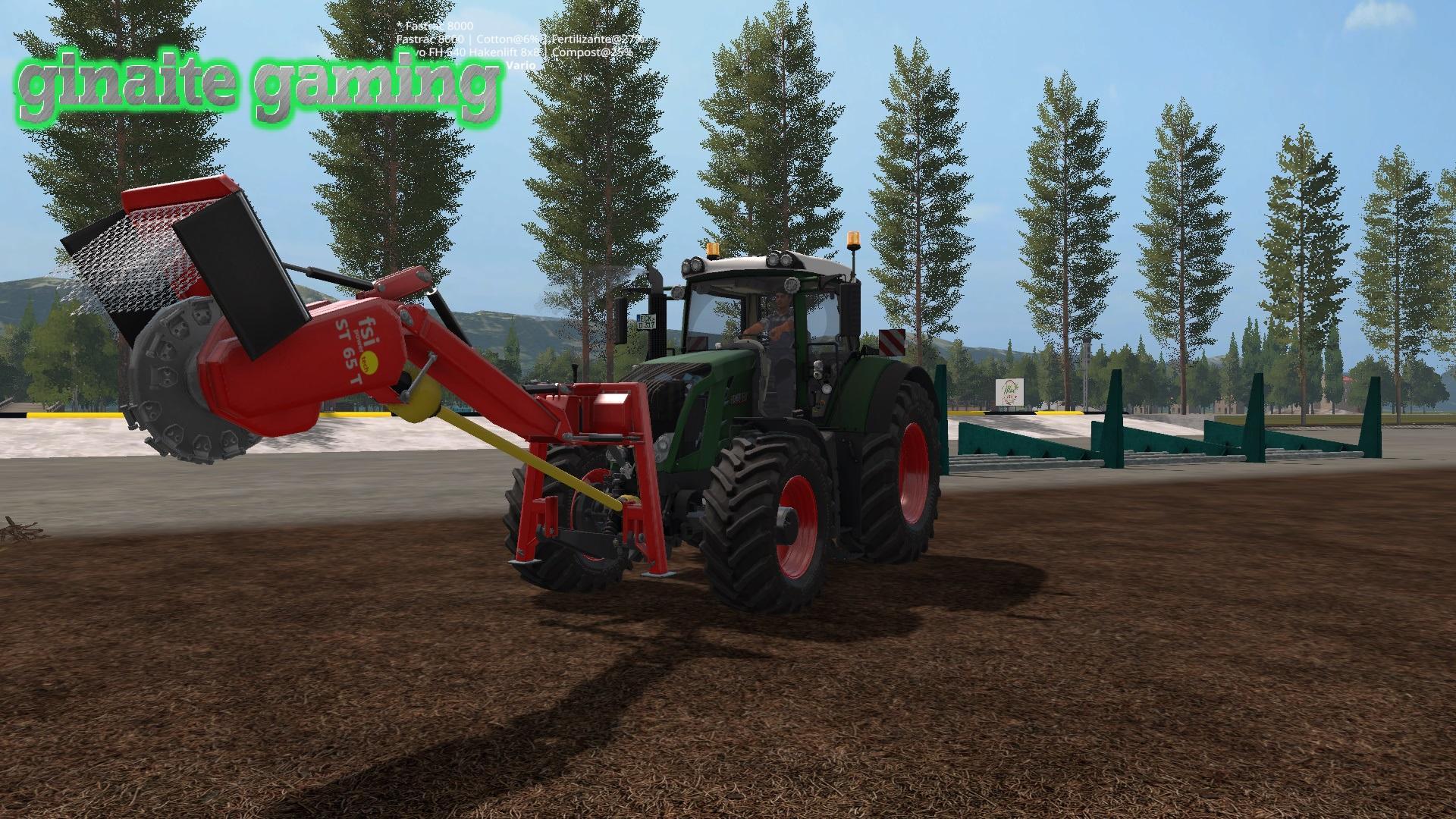 Мод трактор FENDT VARIO 828 V1.0 Farming Simulator 2017