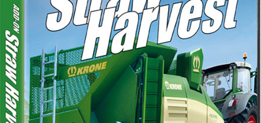 Мод DLC Add-On Straw Harvest v1.0.0 RUS Farming Simulator 17