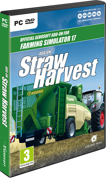 Мод DLC Add-On Straw Harvest v1.0.0 RUS Farming Simulator 17