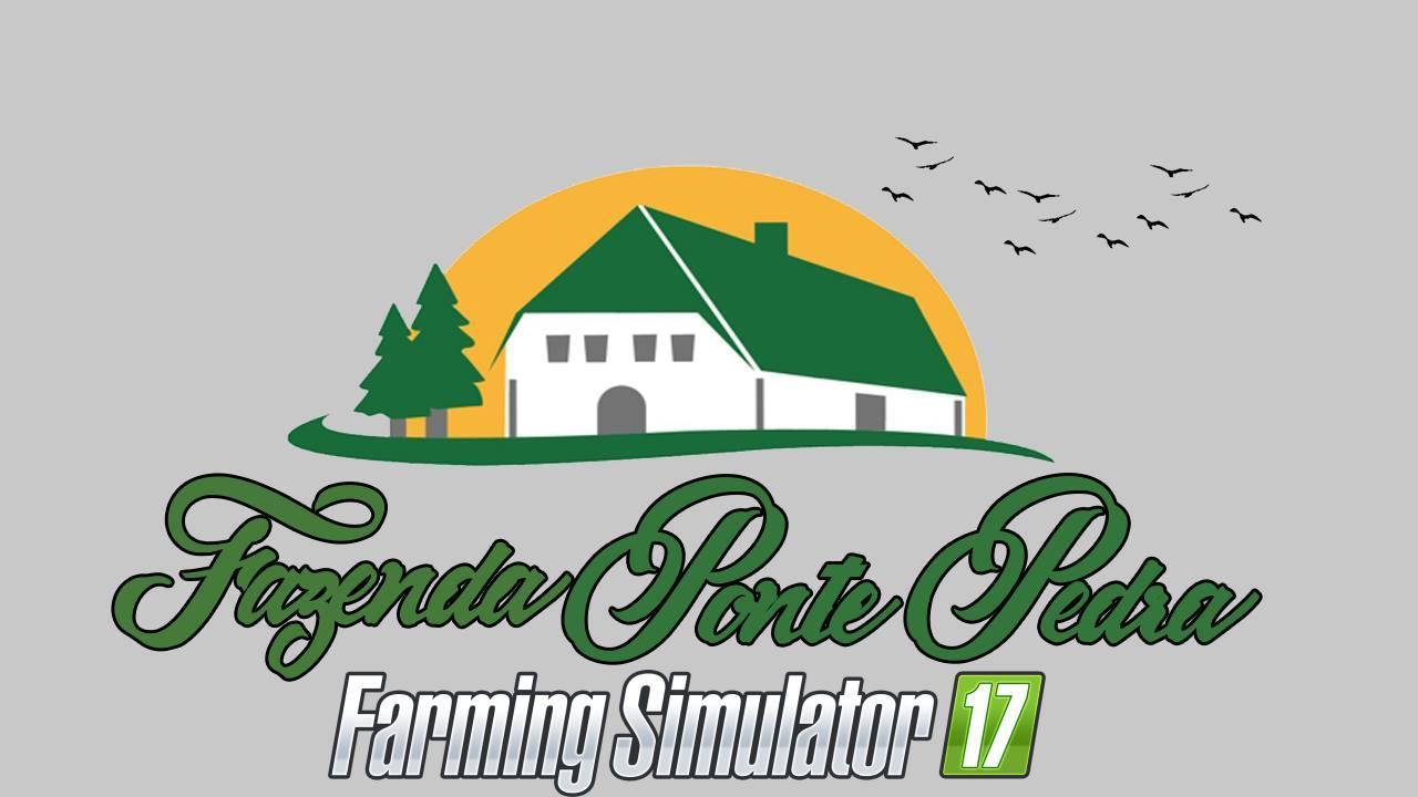 Мод карта MAP PONTE PEDRA V1.0 Farming Simulator 2017