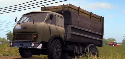 Мод грузовик МАЗ-500 V1.0 Фермер Симулятор 2017